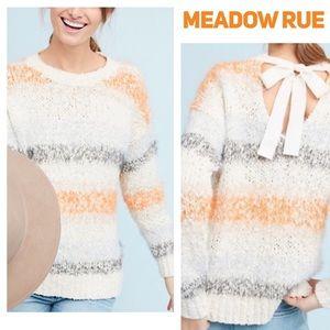 Meadow Rue Anthropologie Kennedy Striped Sweater